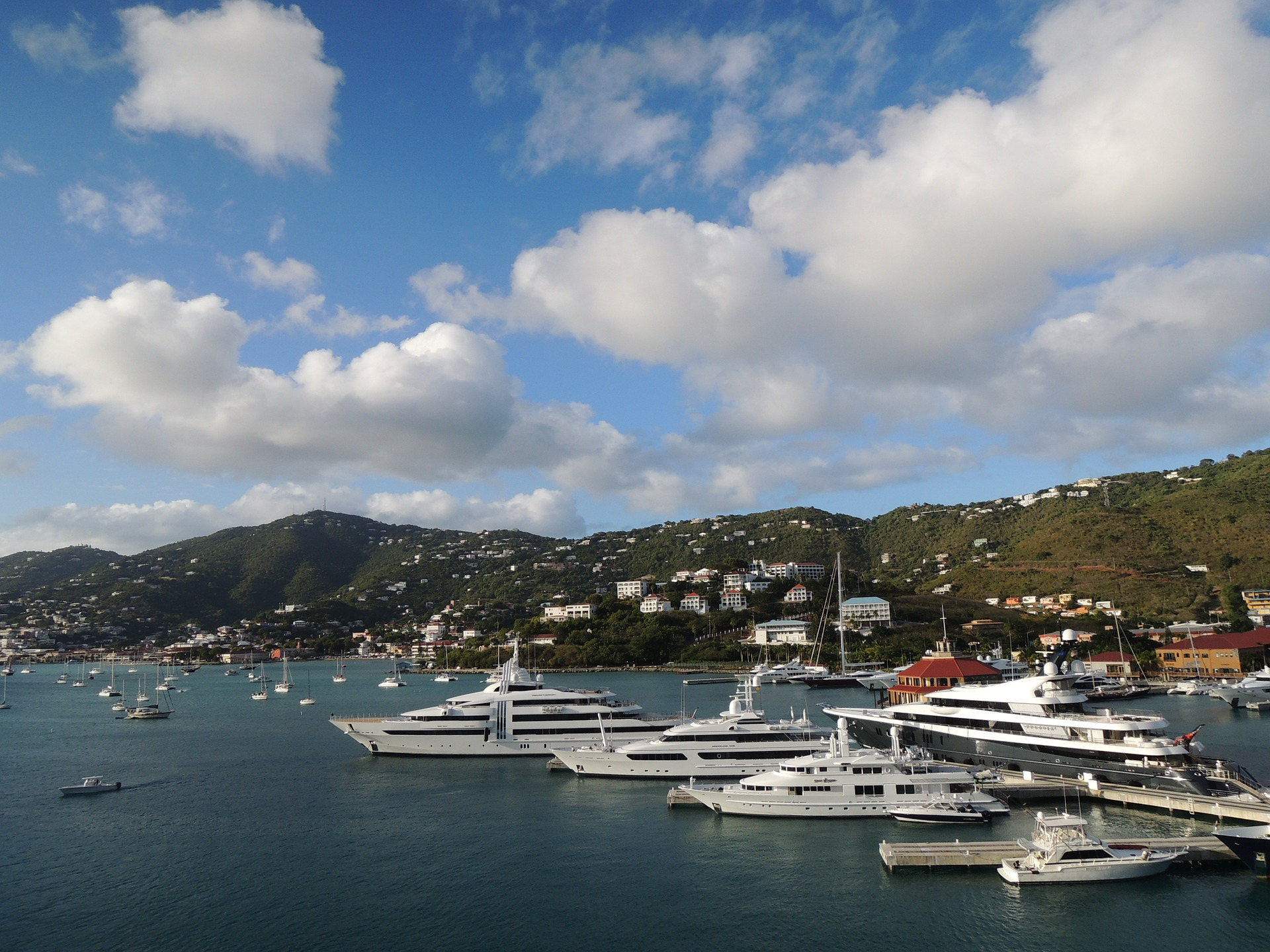 Boats at Charlotte Amalie - US Virgin Islands