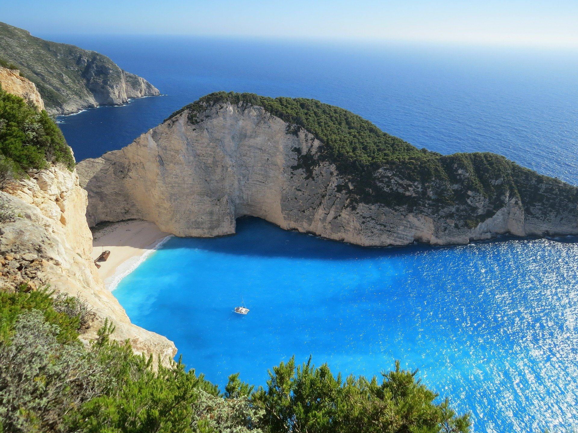 Famous Beach in Greece
