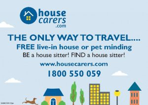 House Sitters Advertisement